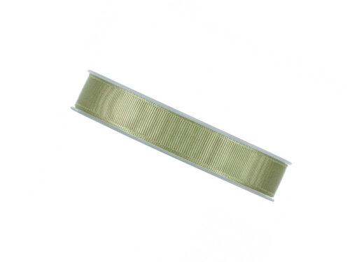 Satinband oliv grön