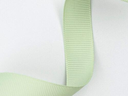Presentband satinband - Grön pistage - 16 mm