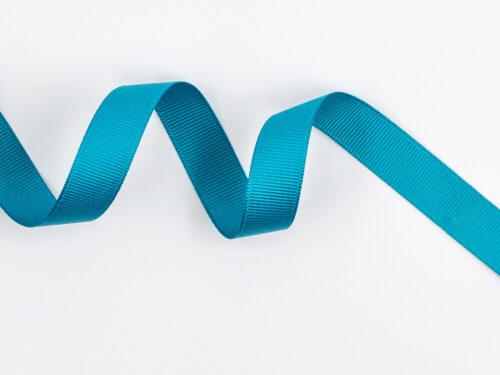 Presentband satinband - Blå teal - 16 mm