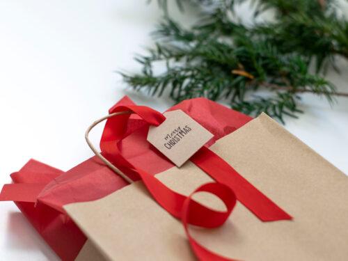 Färdigt kit för julklappsinslagningen - Adventsmys