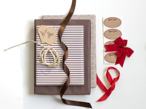 Färdigt kit med julklappspapper - Julafton Max