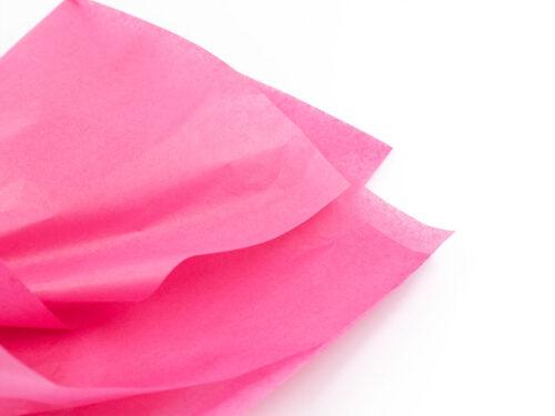 Silkespapper gör det lite lyxigare - Cerise - Papper & annat