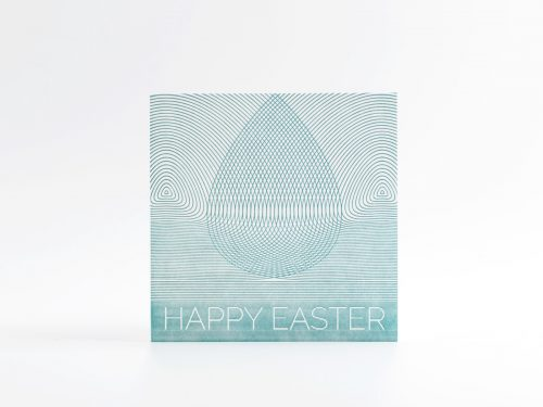 Vykort påsk, ÄGG 1 HAPPY EASTER, Märka Design